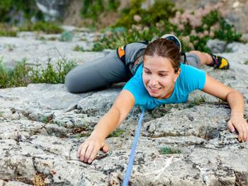 French & climbing