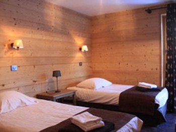 Bedroom in chalet