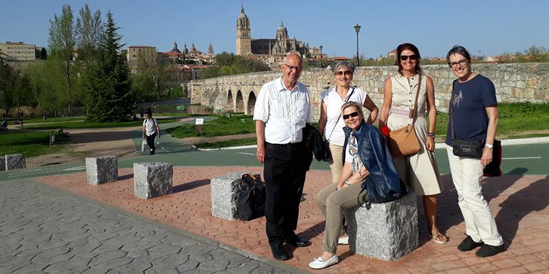 Ausflüge im Club 50+ Kurs - Salamanca