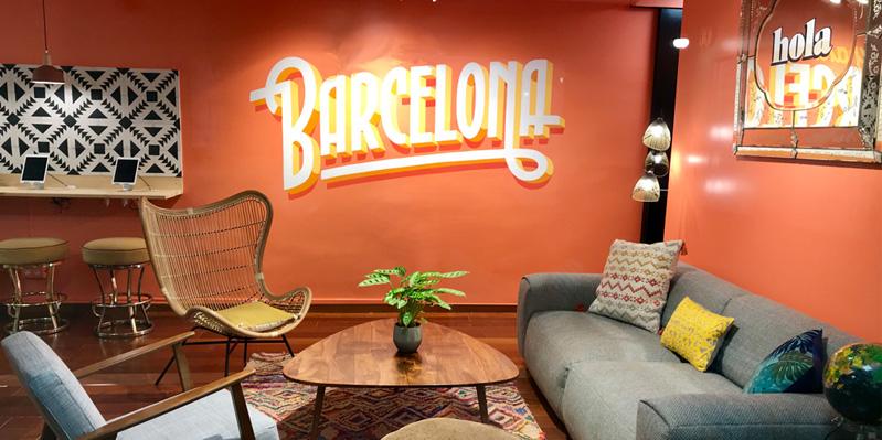 Unsere Schule in Barcelona