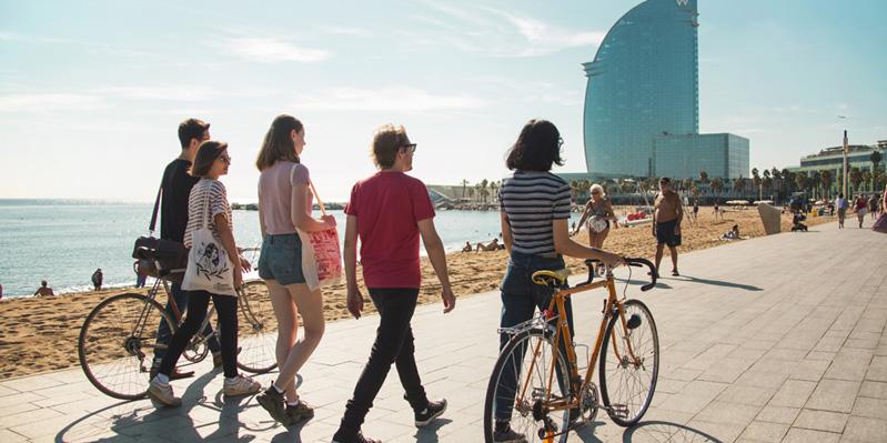 Erkunden Sie Barcelonas Strand