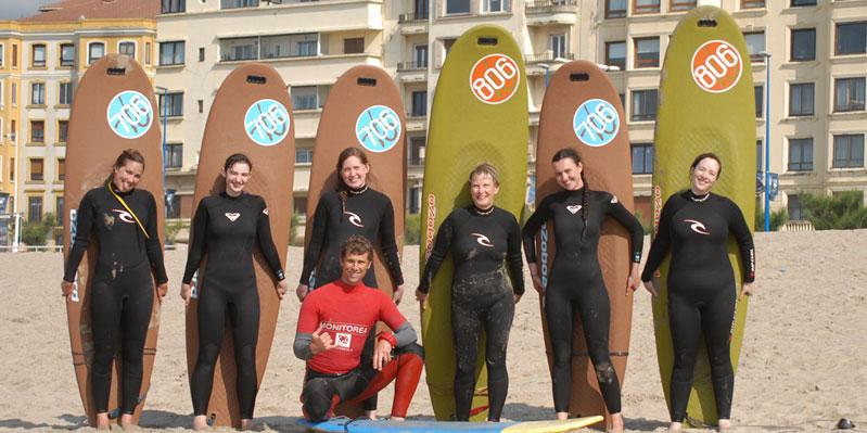 Spanisch- und Surfunterricht