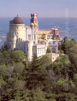 Der Palácio Nacional da Pena in Sintra