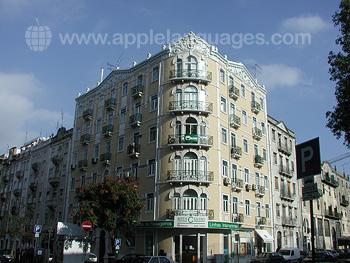 Unser Schulgebäude in Lissabon