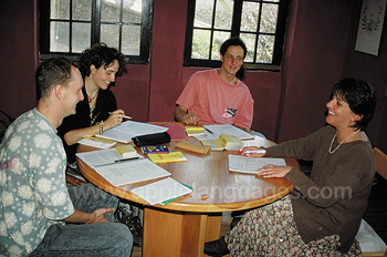 Learning Spanish at our school in Cuenca