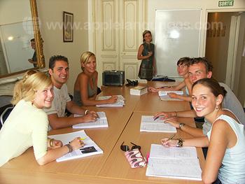 Französischstunde an unserer Schule