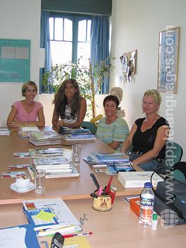 Griechischunterricht in Athen