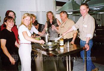 Griechischer Kochunterricht