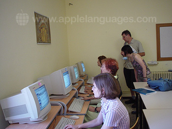 Internetraum der Schule