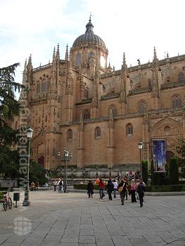 Die Kathedrale in Salamanca
