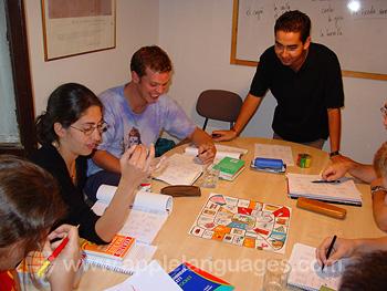 Spanischstunde an unserer Schule