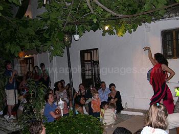 Flamenco-Abend an der Schule