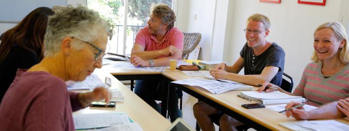 Schüler im Unterricht in Aix en Provence