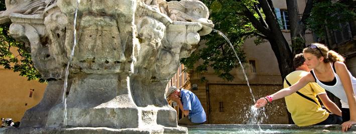 Stadtzentrum Aix