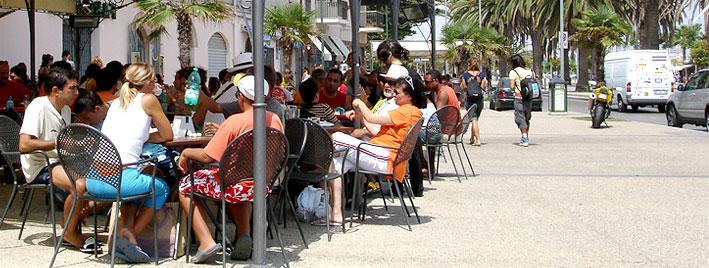 Cafékultur in Alghero