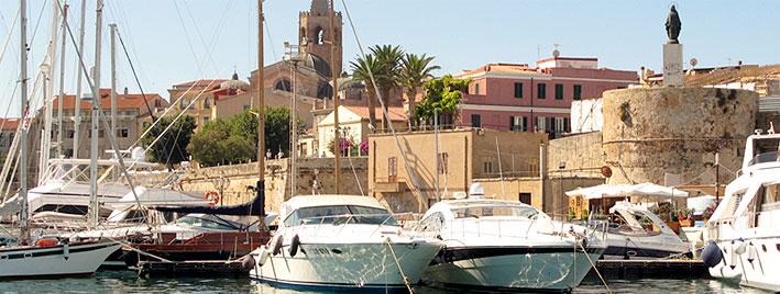 Alghero Yachthafen