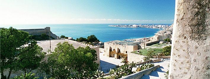 Blick über Alicante