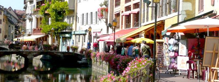 Läden in Annecy