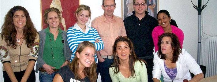 Sprachschüler in Athens