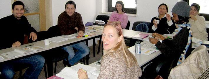 Deutschstunde in Augsburg