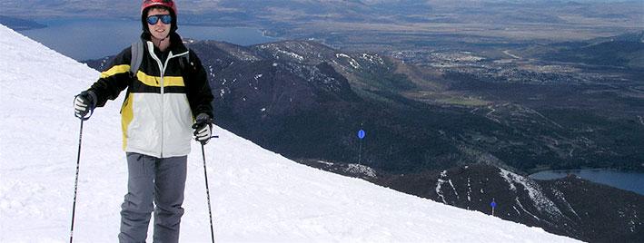 Skifahren in Bariloche, Argentinien
