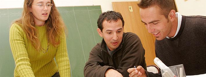 Schüler im Unterricht, Bariloche