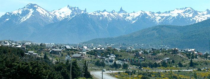 Bergblick in Bariloche