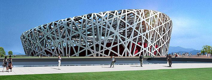 Nationalstadion Peking - Vogelnest