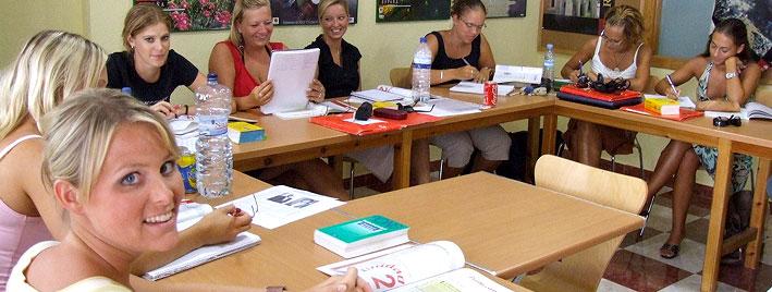 Spanischklasse in Benalmadena