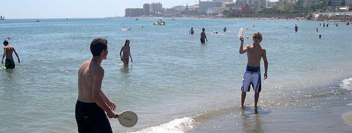 Wasserspiele in Benalmadena