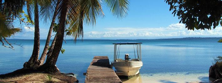 Ausblick in Bocas del Toro