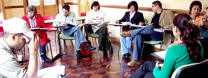 Spanischstunde in Bogota