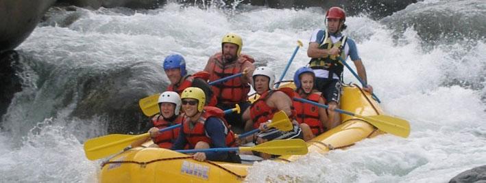 Wildwasser-Rafting in Boquete