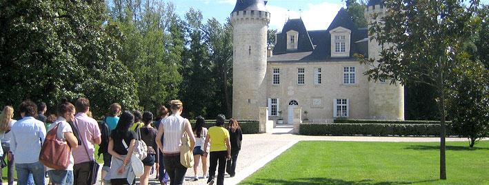 Ausflug zum Schloss in Bordeaux