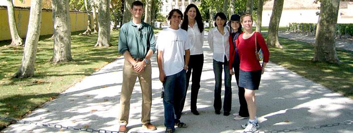 Sprachschüler in Bordeaux