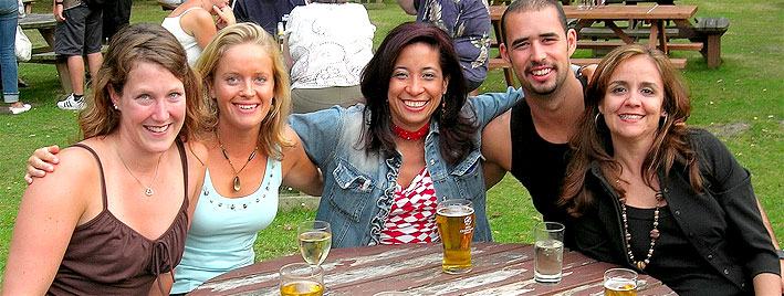 Biergarten in Bournemouth