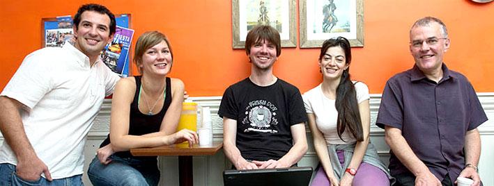 Sprachschüler in Buenos Aires