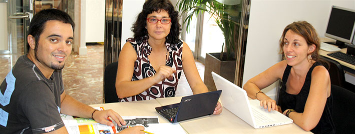 Spanischklasse in Cadiz