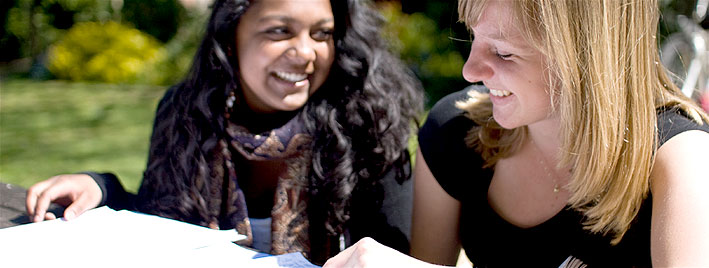 Sprachschüler in Cambridge
