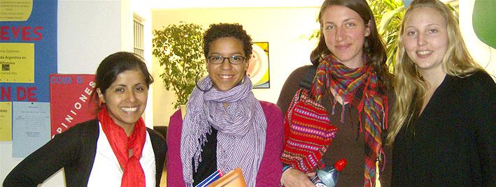 Sprachschüler an unserer Schule in Cordoba
