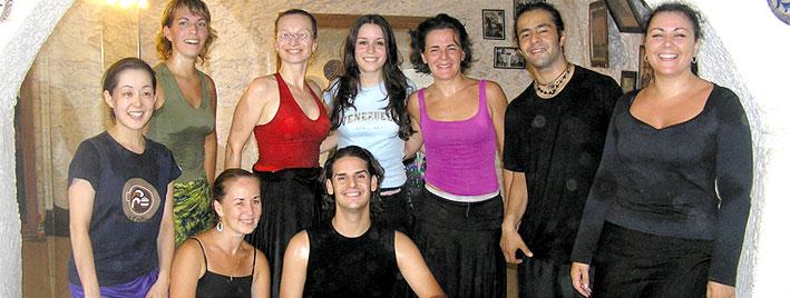 Tanzstunde in Marbella