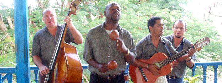 Musikstunden in Trinidad