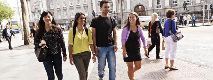 Spaziergang in Dublin
