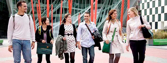 Sprachschüler erkunden Dublin