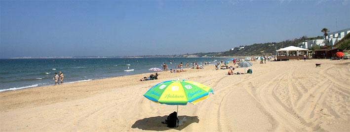 Strand in El Puerto