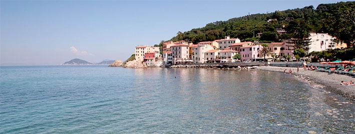 Strand auf Elba