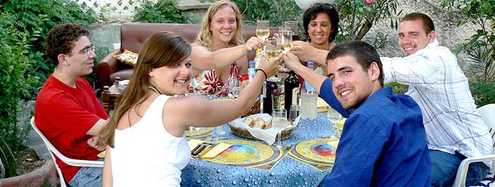 Essenszeit auf Elba