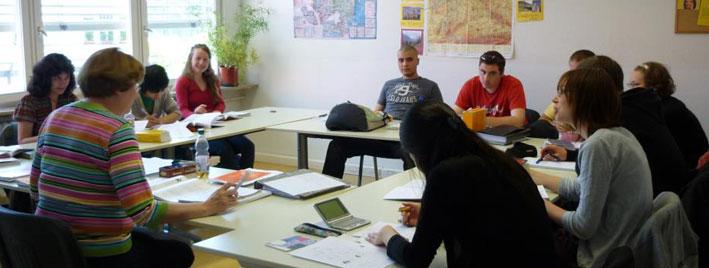 Deutschunterricht in Freiburg