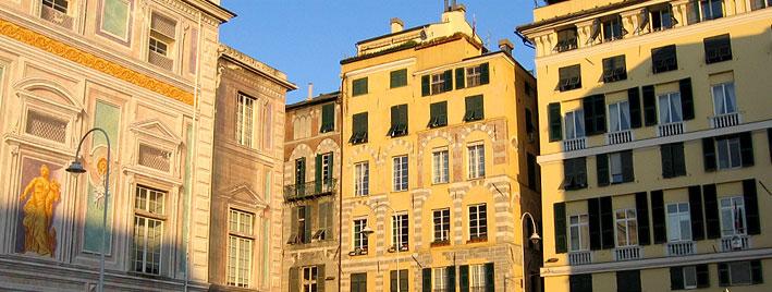 Gebäude in Genua