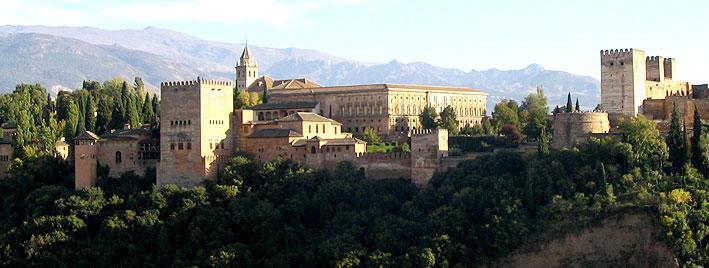 Blick auf die Alhambra, Granada